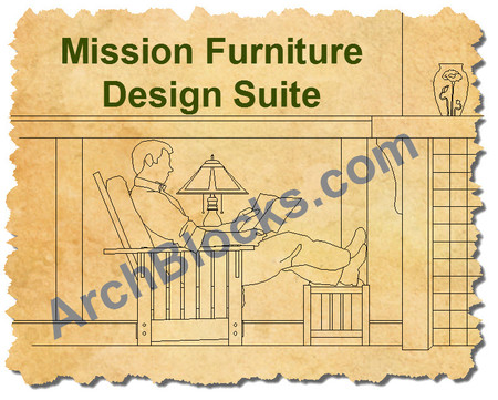 ArchBlocks Mission CAD Furniture Design Suite