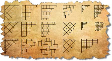 French Pattern, French Pattern Tile & French Pattern Travertine