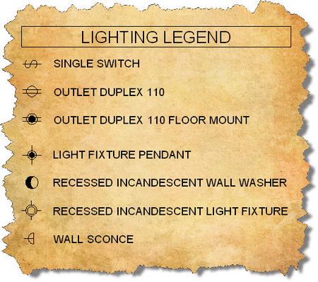 Wall Sconce Electrical Symbol : Pin Electrical Symbolsjpg on Pinterest