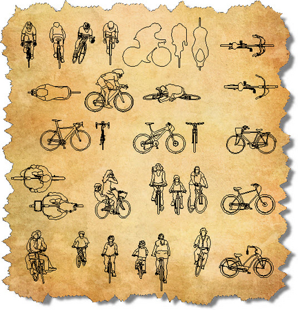 bike cad block free download