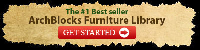 The #1 Best seller AutoCAD Block Furniture Library