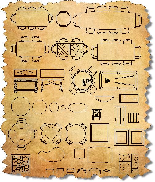 Magnificent Free CAD Furniture Blocks 505 x 594 · 180 kB · jpeg