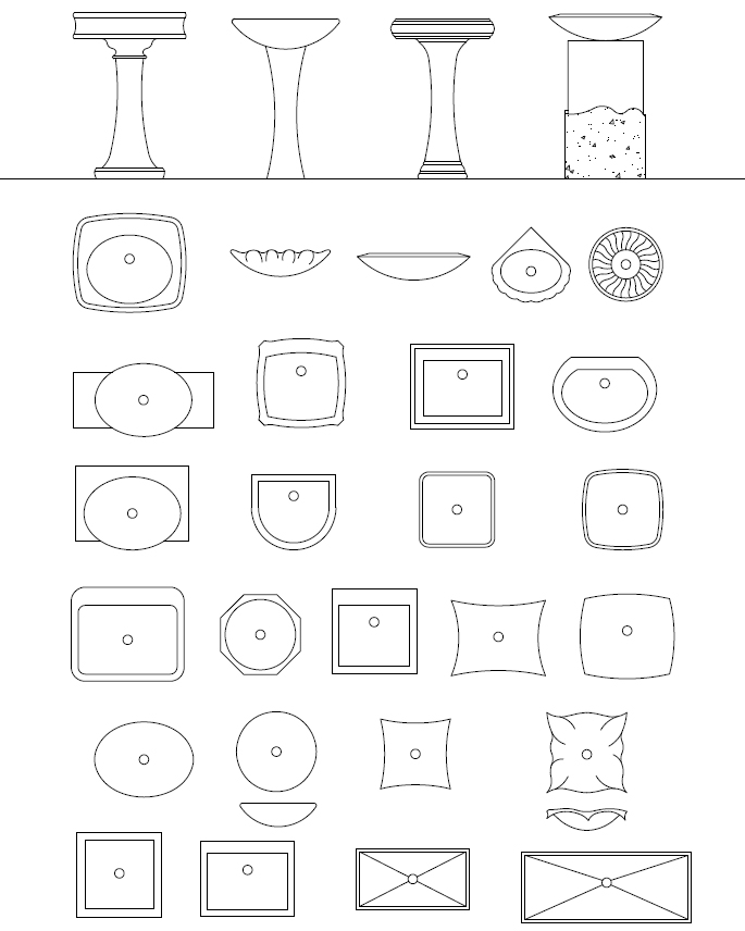 ArchBlocks AutoCAD Office Equipment Block Symbols