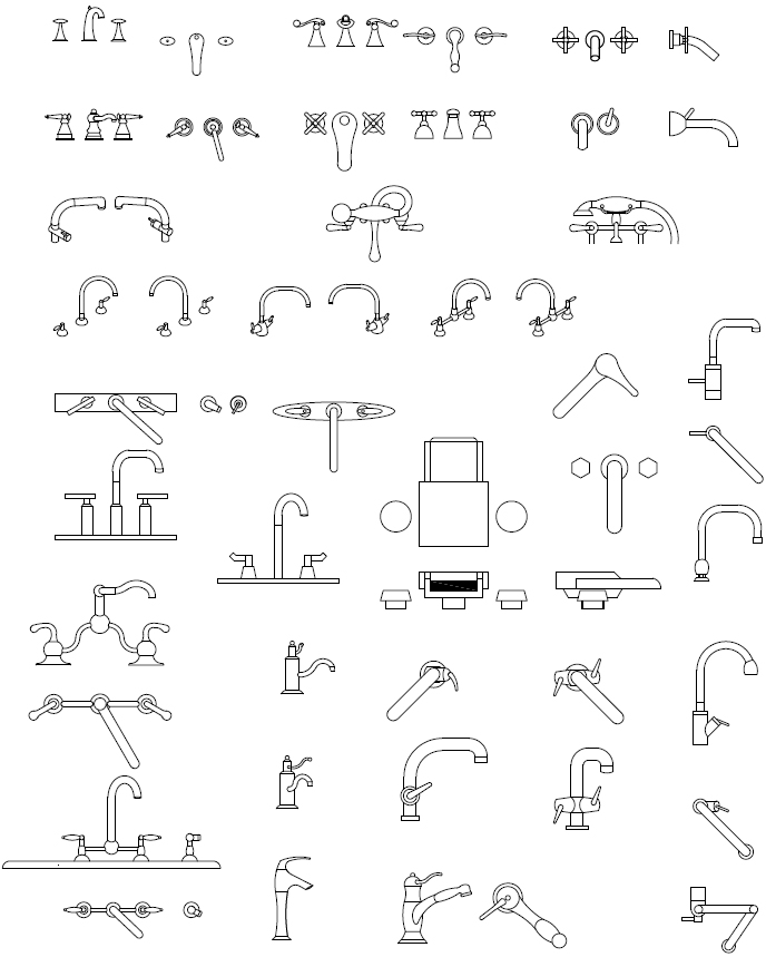 CAD Blocks of Toilets
