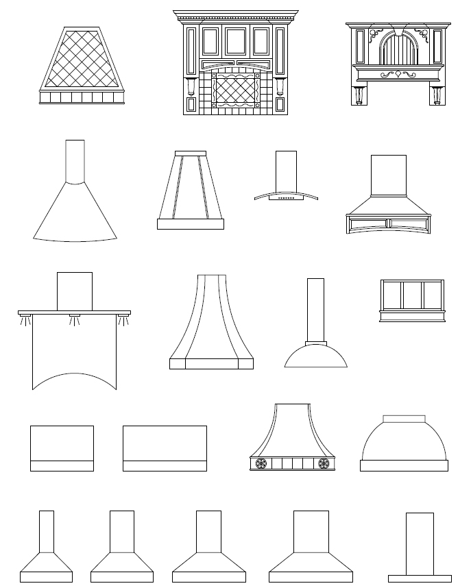 Cad Appliance Blocks Autocad Appliance Symbols Kitchen Cad Symbols Laundry Cad Symbols