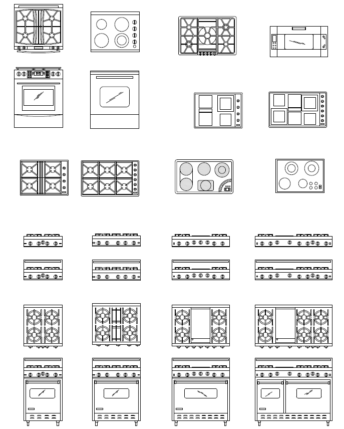 Impressive Free Kitchen AutoCAD Blocks Symbols 687 x 856 · 162 kB · jpeg