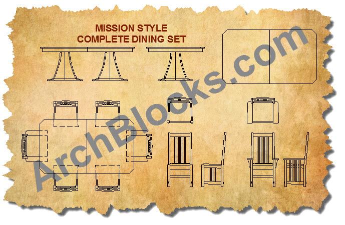 Craftsman Mission Style Furniture
