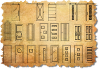ArchBlocks CAD Doors and Hardware Symbols
