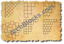 ArchBlocks Floor Tile Vignettes