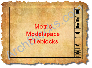 AutoCAD Metric Titleblocks