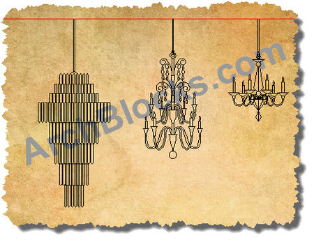 Autocad blocks chandeliers chandelier cad symbols cad lighting archblocks chandeliers cad symbols aloadofball Images