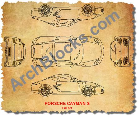 Autocad Sports Car Symbols Cad Sports Car Blocks Sports Car Cad