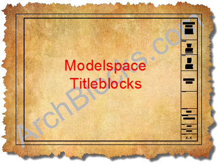 ArchBlocks Architectural Titleblocks in Modelspace