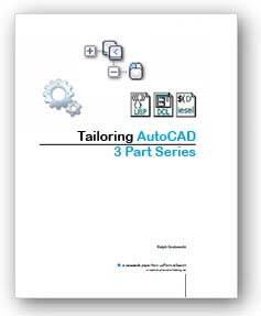 Tailoring AutoCAD Series
