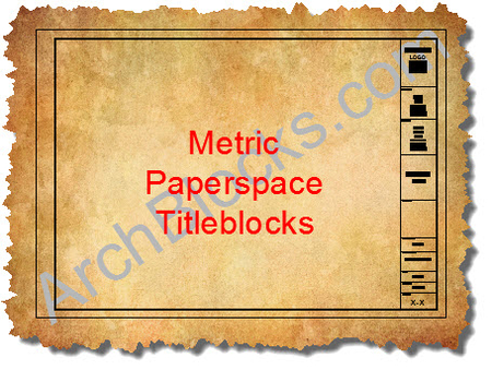 ArchBlocks Architectural Metric Titleblocks in Paperspace