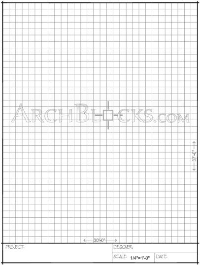 drawing paper template