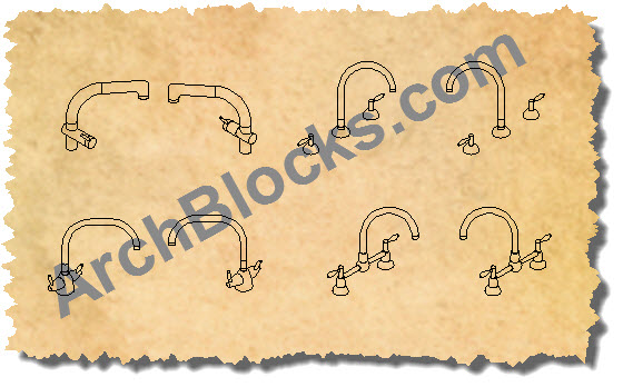 AutoCAD Plumbing Block Library - AutoCAD Block of Shower - Plumbing ...