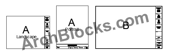 AutoCAD Title Block Modelspace Paperspace