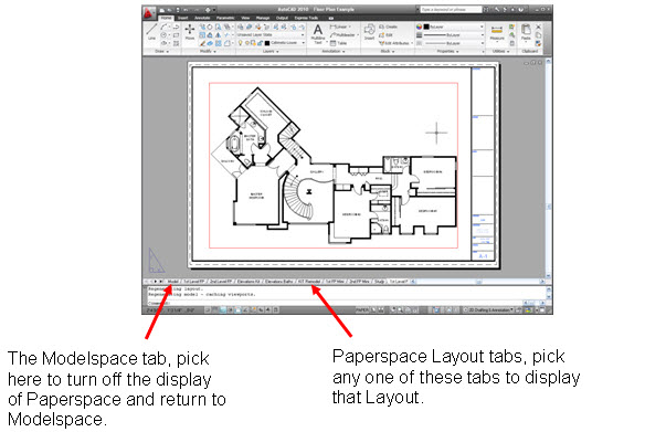 How to AutoCAD Paperspace-03