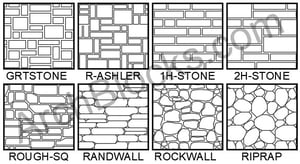 ArchBlocks Stone Hatch Patterns