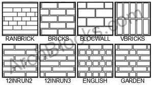 ArchBlocks Hatch Patterns Brick and Pavers