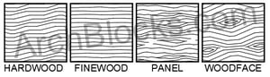 ArchBlocks Wood Hatch Patterns