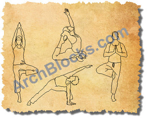 ArchBlocks People Yoga Poses