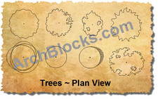 ArchBlocks Landscape Trees Combo Pack