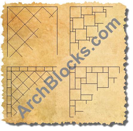 Cad Floor Tile Cad Flooring Patterns Autocad Floor Tiles